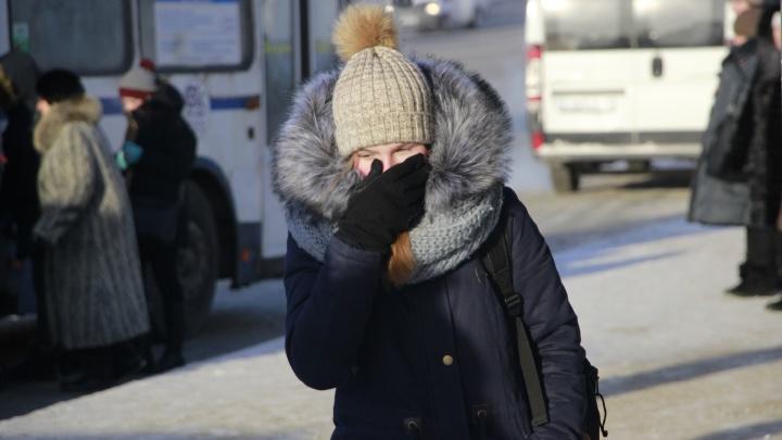 За ночь семеро омичей с обморожениями попали в больницы на скорых
