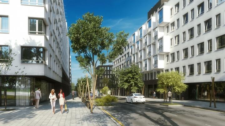 На Уктусе началось строительство микрорайона от голландских архитекторов