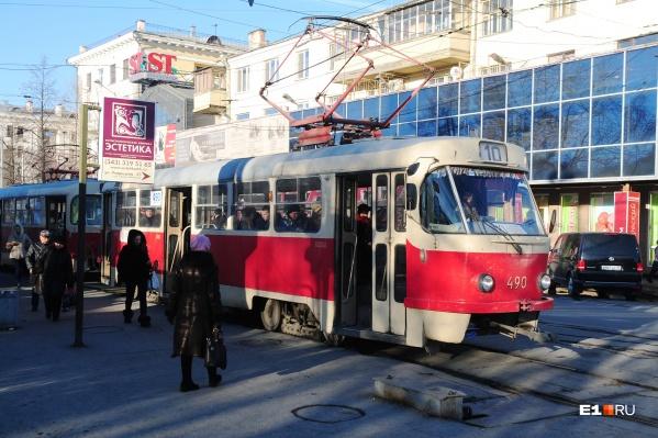 Трамваи, идущие со стороны центра, не смогут ездить на Сортировку и будут разворачиваться в районе остановки«Фармацевтический колледж»