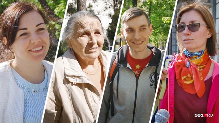 «Город в грязи»: корреспондент 161.RU узнал, что думают горожане об отставке Виталия Кушнарева