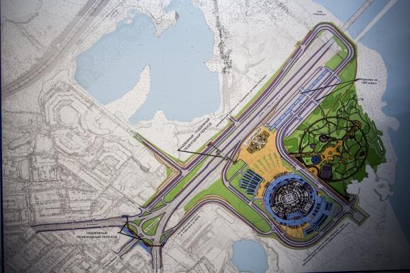 Станцию метро «Спортивная» планируют построить за три года