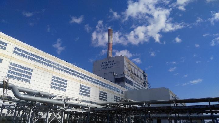 На красноярской ТЭЦ-3 устанавливают новый генератор