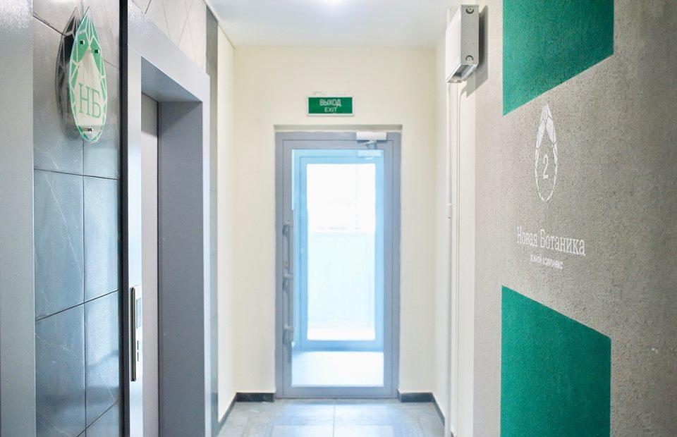Так выглядят лифтовые холлы «изумрудного» дома