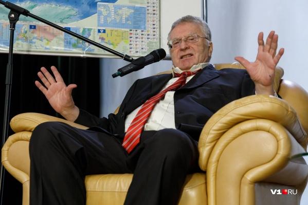 Владимиру Вольфовичу ожидаемо не захотелось перебираться в Волгоград