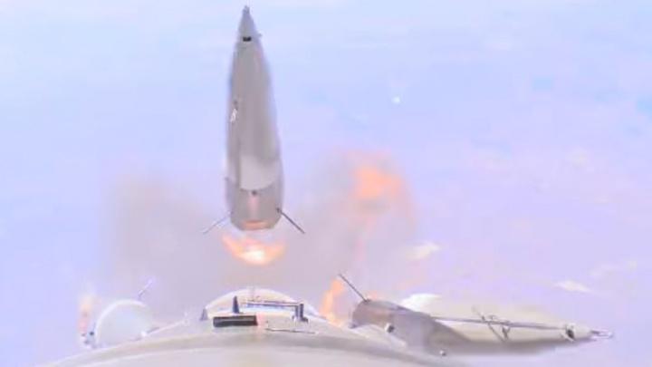 Роскосмос показал видео аварии на ракете, летевшей на МКС