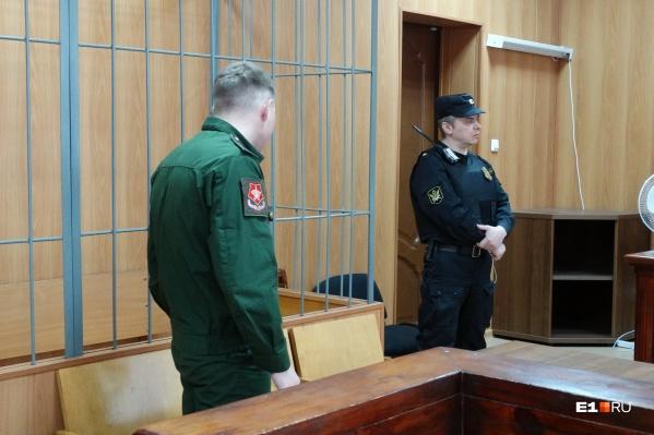 Срочник, получивший три года колонии, попросил суд заново рассмотреть его уголовное дело