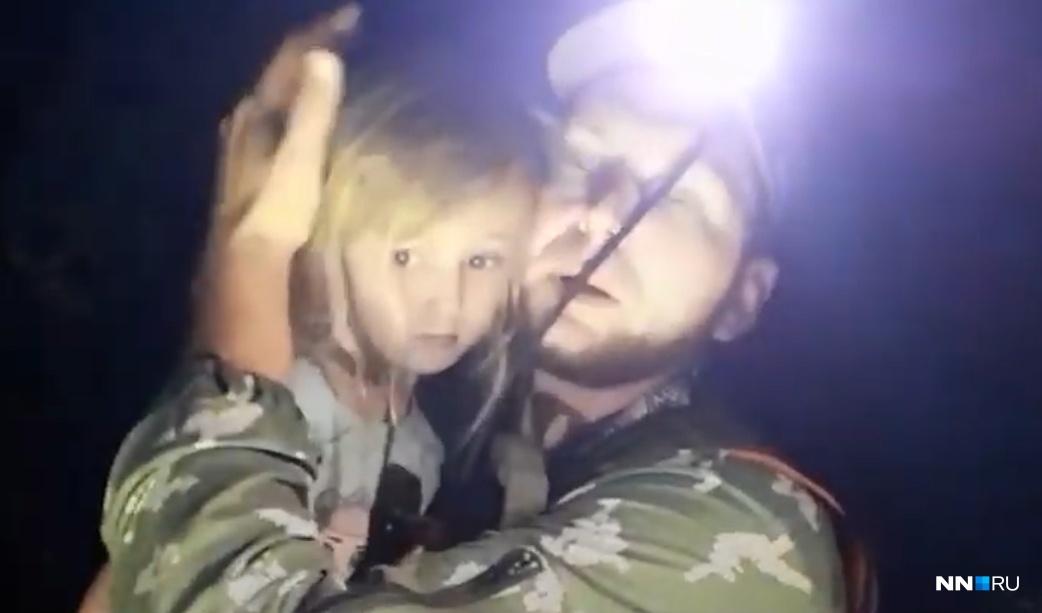 Девочку спасли на 4-е сутки