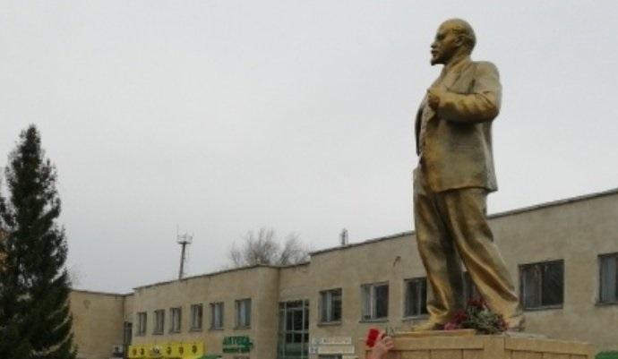 В Самарской области открыли памятник Ленину