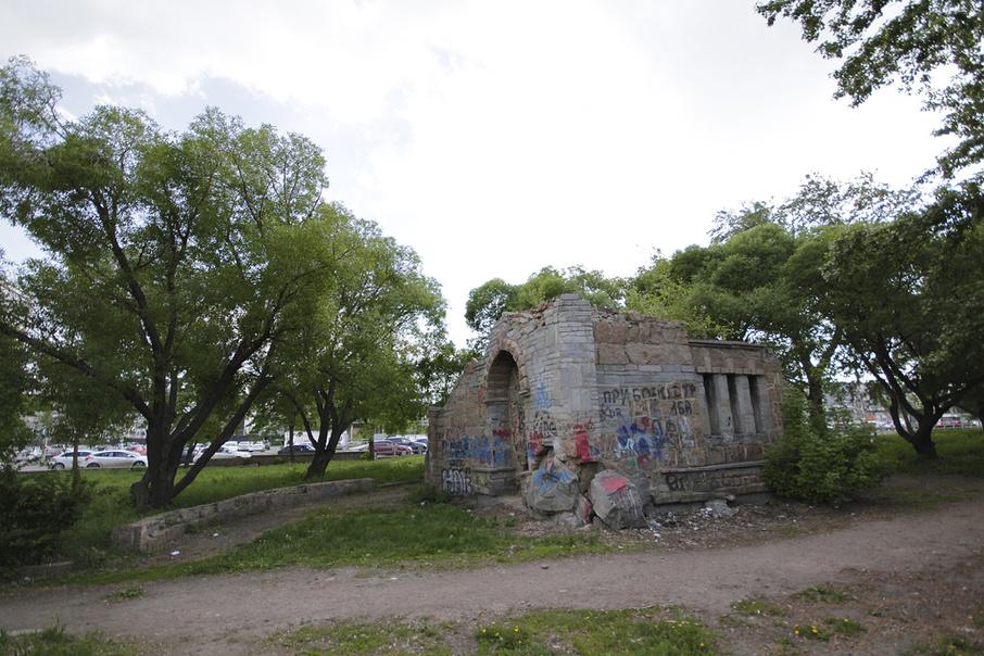 «Сад камней» хотели превратить в новую площадку для отдыха горожан, но планы изменились
