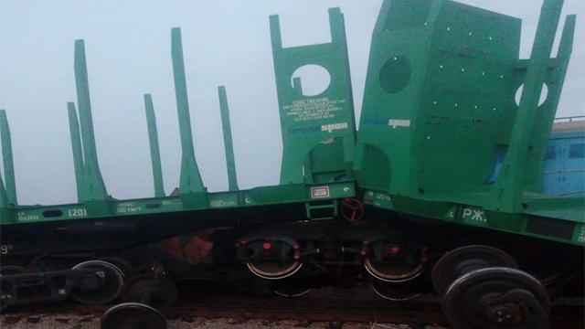 ЧП за металл: в Уфе столкнулось два поезда