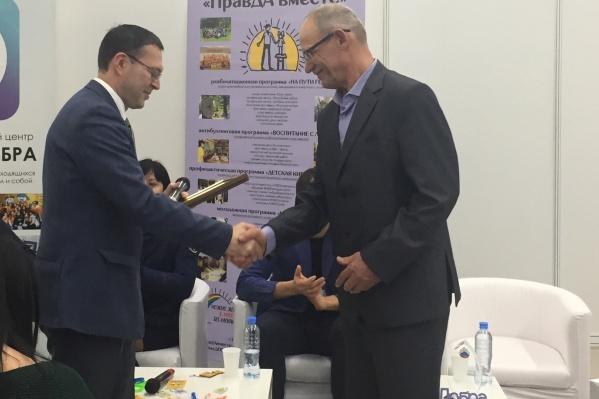 Геннадия Шадрина официально поблагодарили за спасение детей