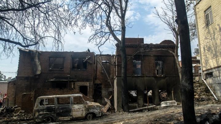 Виталий Кушнарев встретится с ростовчанами, пострадавшими при пожаре на Театральном спуске