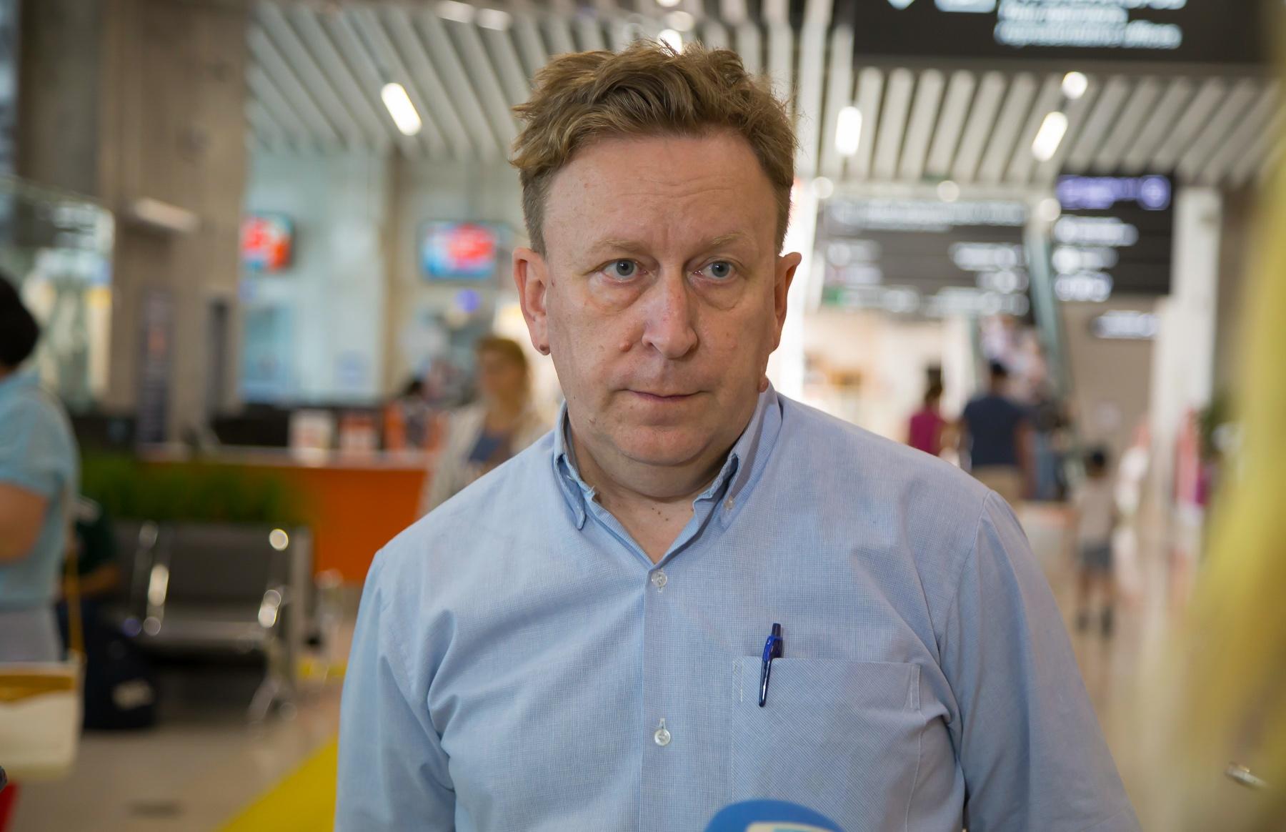 Вячеслав Шульга связывает рост пассажиропотока не с реконструкцией аэропорта, а с ростом экономики в городе и стране
