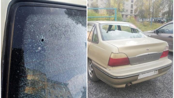 «Возможно, это из-за Шиеса»: ночью в посёлке Савинском обстреляли машину экоактивистки