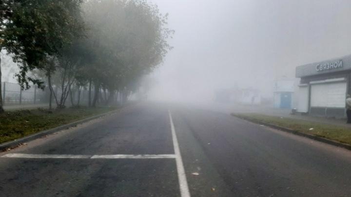 «Прямо Лондон!»: пермяки делятся в соцсетях фотографиями тумана над городом