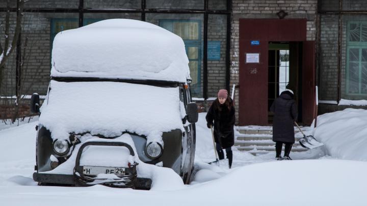 Зима диктует свои условия: какой будет погода в Архангельской области 2 января