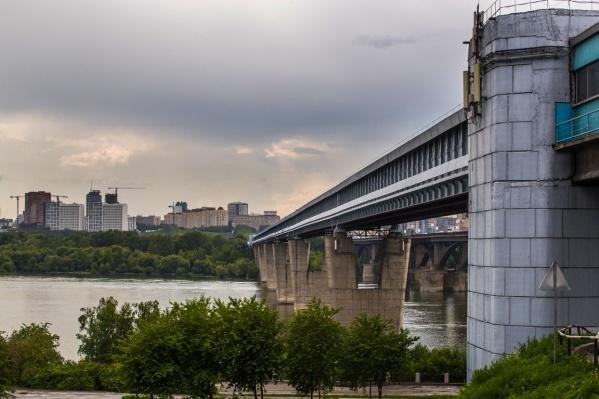 Случай произошёл на Коммунальном мосту