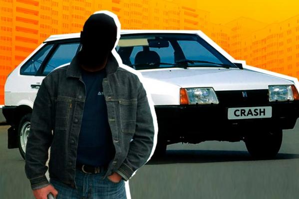 Самыми «аварийными» водителями оказались мужчины за рулем белых «девяток»