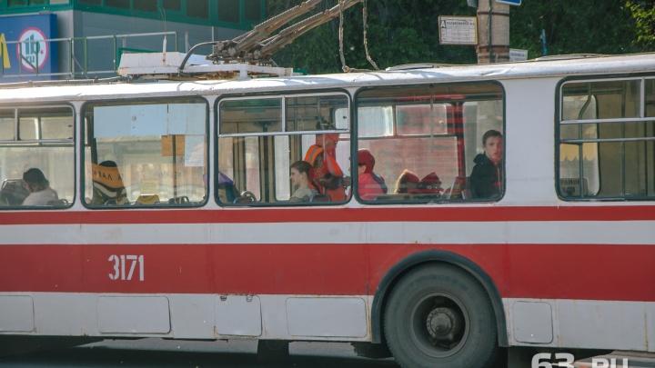 В Самаре троллейбус №16 вернется на маршрут