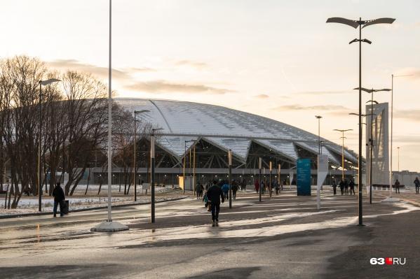 «Самара Арена» к концу года станет собственностью области
