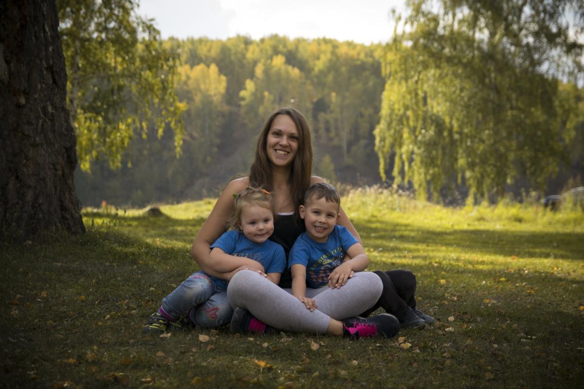 Аня говорит, что огромную поддержку ей оказывает сын