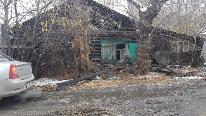В страшном пожаре рядом с площадью Трубникова погибли четыре человека