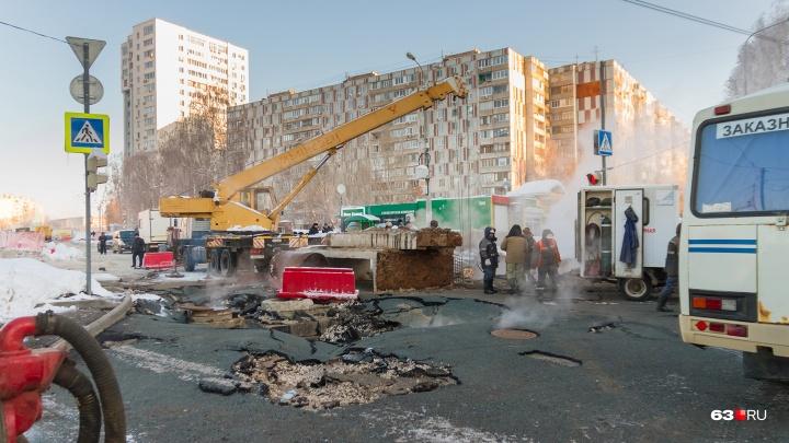 В мэрии назвали сроки включения отопления в домах, которые оказались в зоне аварии на Стара-Загоре