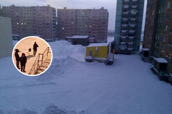 В Норильске зимой всегда много снега