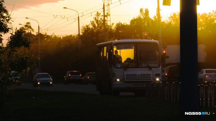 Омские маршрутчики объявили, что в День города будут работать до полуночи