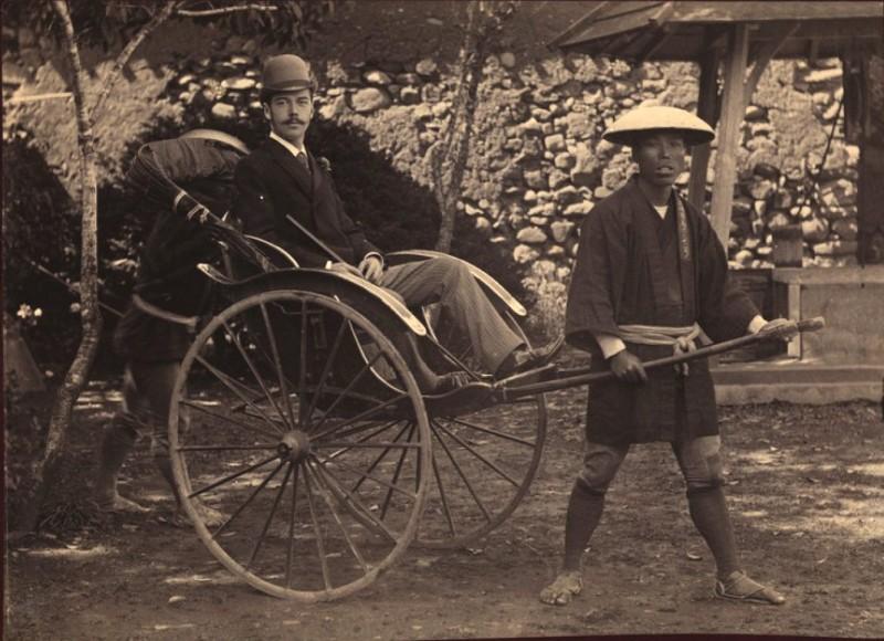 Цесаревич Николай Александрович Романов в Нагасаки, 1891 год