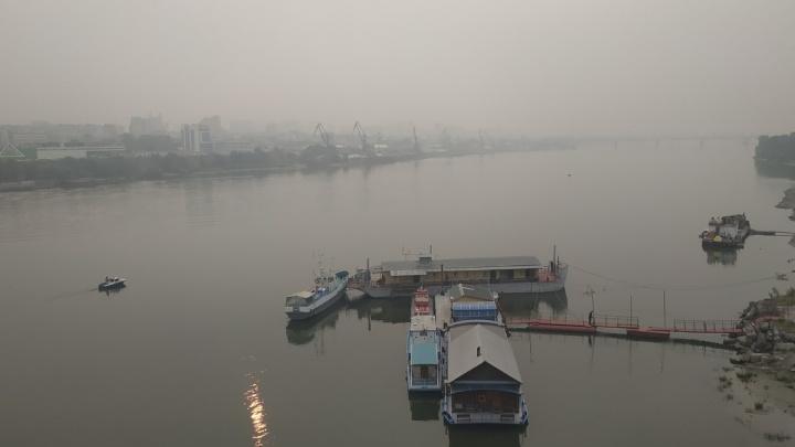Ветер сдует смог из Новосибирска