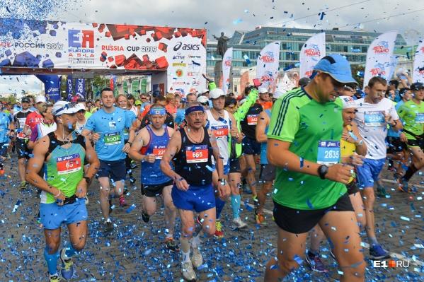 Увидимся 5 августа на марафоне «Европа — Азия»!