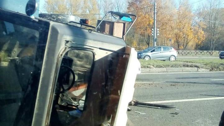 Водитель отказался оформлять ДТП: подробности аварии с трактором в Брагино