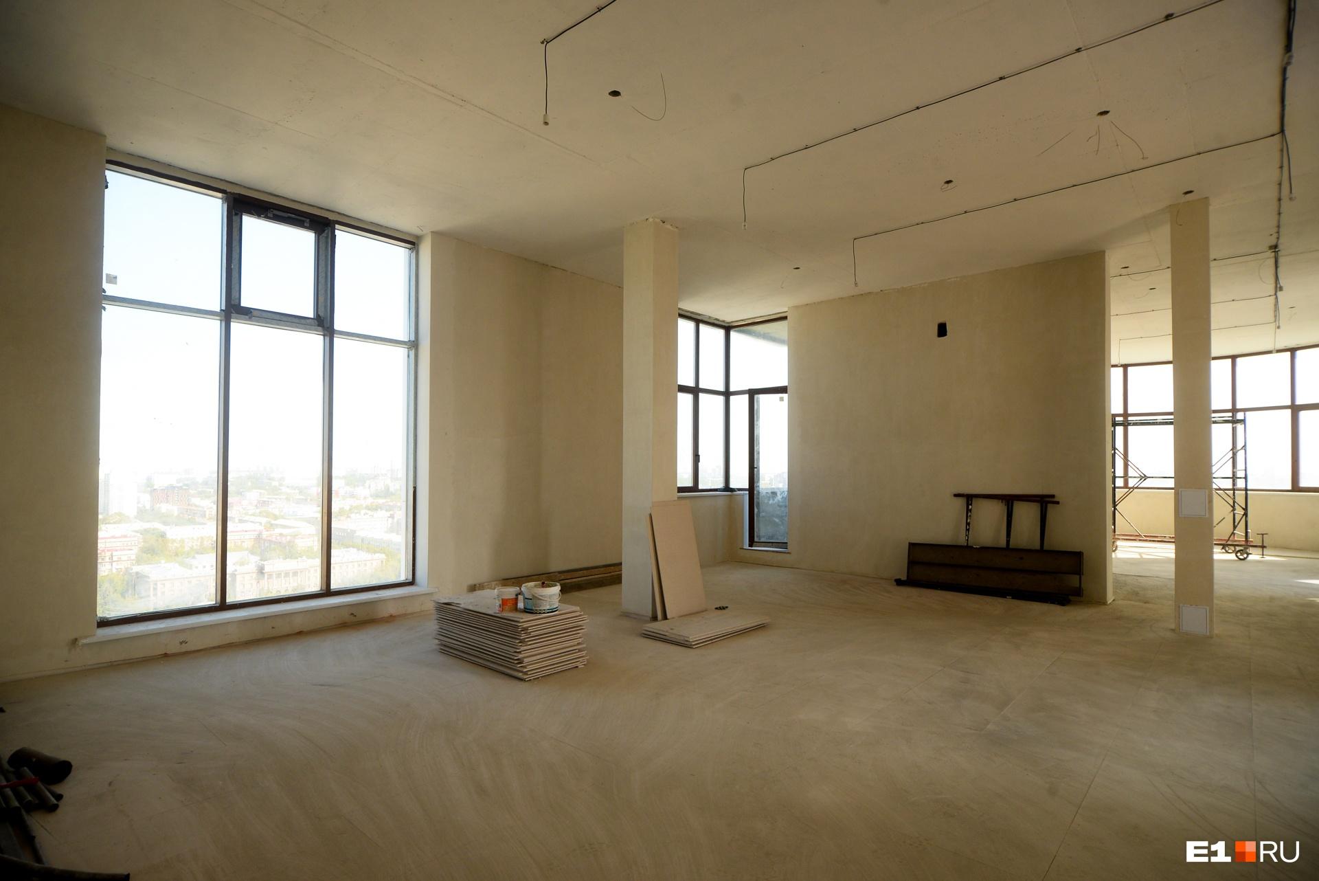 Комната на третьем этаже — 90 «квадратов», это спальня