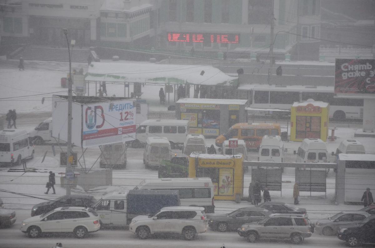 Завтра на город обрушится обильный снегопад
