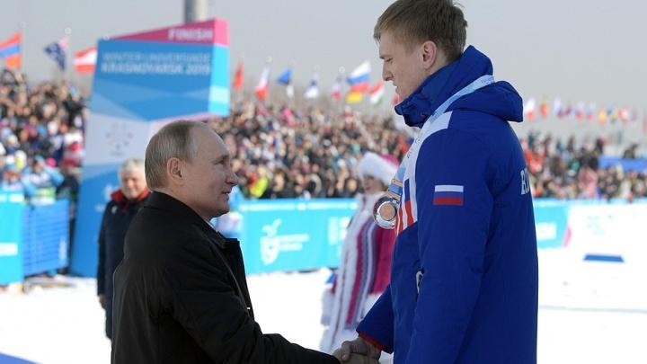 Сборная России выбилась в лидеры медального зачёта с большим отрывом