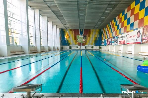 Так бассейн выглядит после ремонта