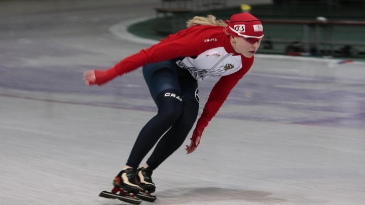 Ольга Фаткулина выиграла чемпионат России по конькобежному спорту