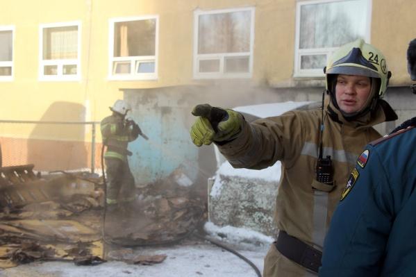МЧС опубликовало первые данные о причинах пожара в одной из омских больниц