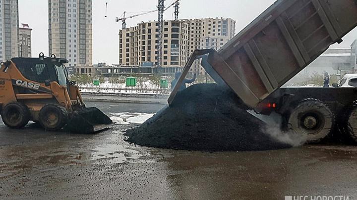 Мэрия заказала ремонт 7 аварийных участков на дорогах Красноярска