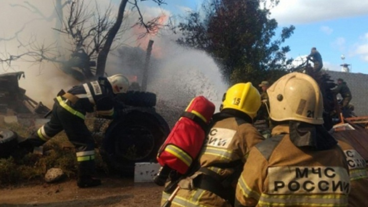 Под Волгоградом сгорел в доме 20-летний селянин