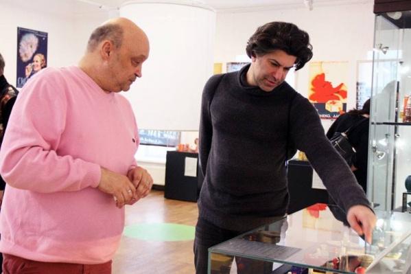 Цискаридзе посмотрел Екатеринбург и побывал в Музее истории Екатеринбурга