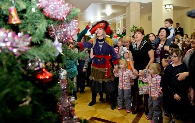 «Таргин» провел для уфимских детей благотворительную елку