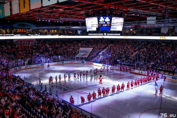 Хоккеисты посвятят игру памяти погибших товарищей