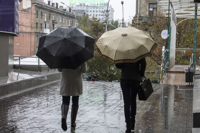 Дожди с мокрым снегом задержатся в Новосибирской области до конца недели