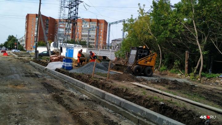 Андрей Потапов: «Сомнений нет, что ремонт дорог Кургана будет выполнен в срок»