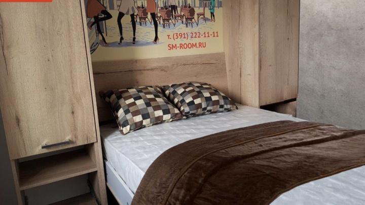Шкафы-кровати Smart Room теперь можно увидеть в шоу-руме «Арбан»