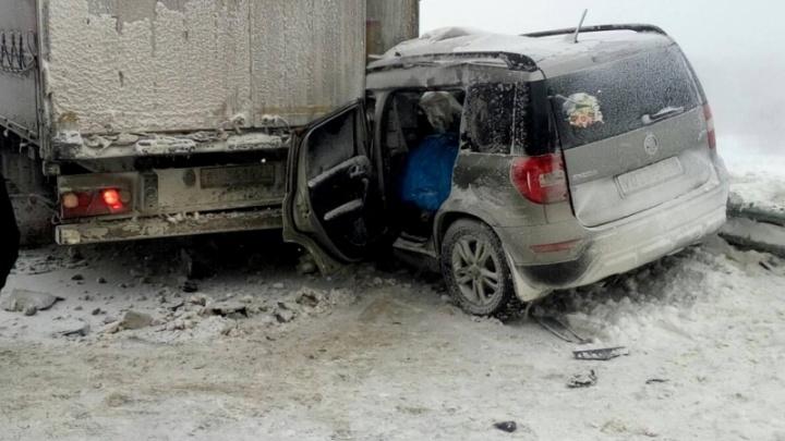 «Лучше отсюда скорее бежать»: федеральная трасса Волгоградской области стала кошмаром для водителей
