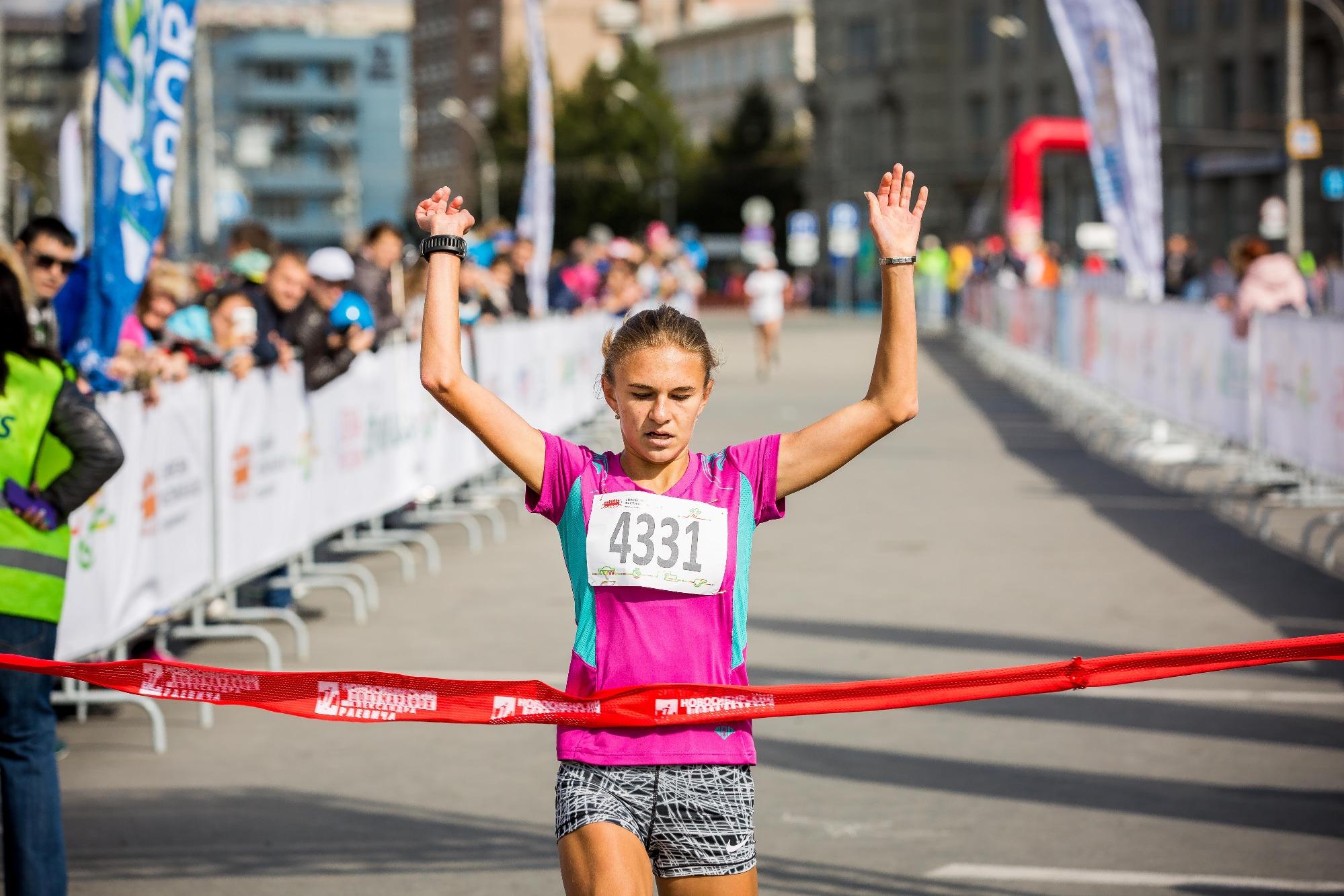 Победительница на дистанции 3,6 км