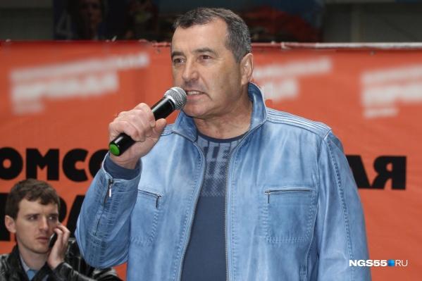 68-летний Михаил Расин находится в прекрасной спортивной форме